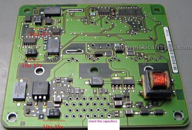 schema centralina ISUZU 16267710 - 8971891360