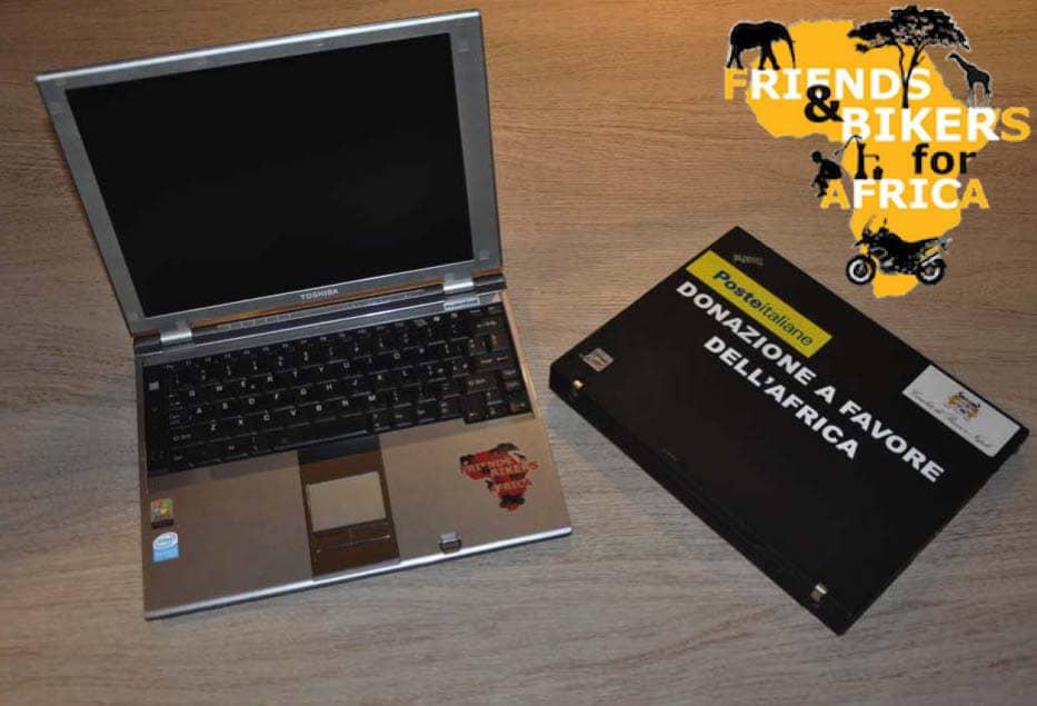 Computer rigenerati per i bambini dell'Africa