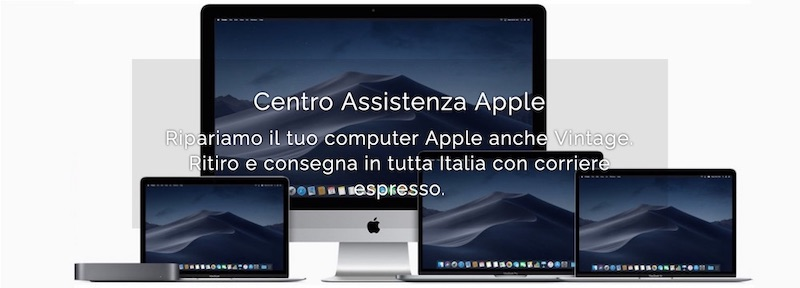 Assistenza Apple PC Riparazioni Centro assistenza