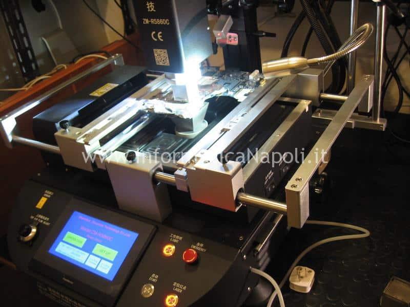 rework reballing sostituzione chip grafico