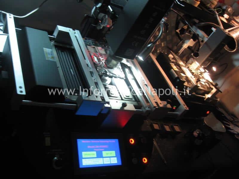 reballing sostituzione chip grafico gpu