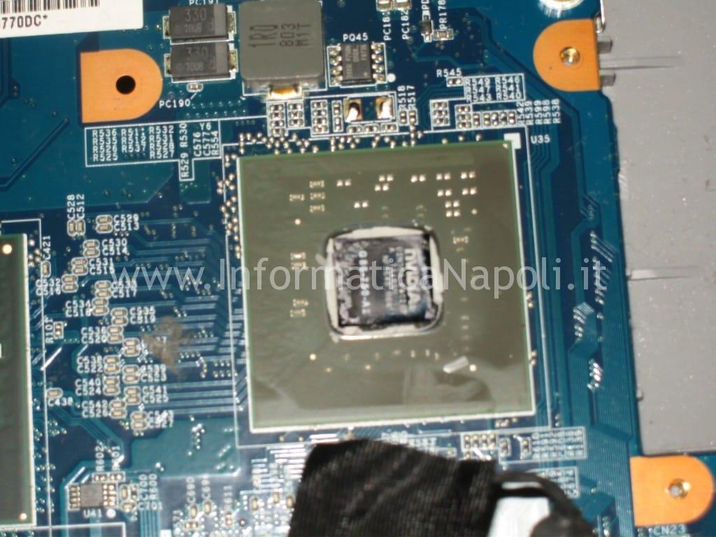 reballing NVidia GeForce Sony Vaio