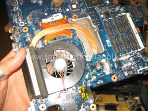 riparare Ventola e dissipatore Samsung R610 napoli