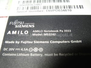 AMILO Notebook Pa 3553