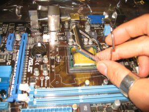 montare CPU PC assemblato Napoli