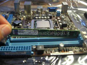 montare RAM computer assemlato Napoli