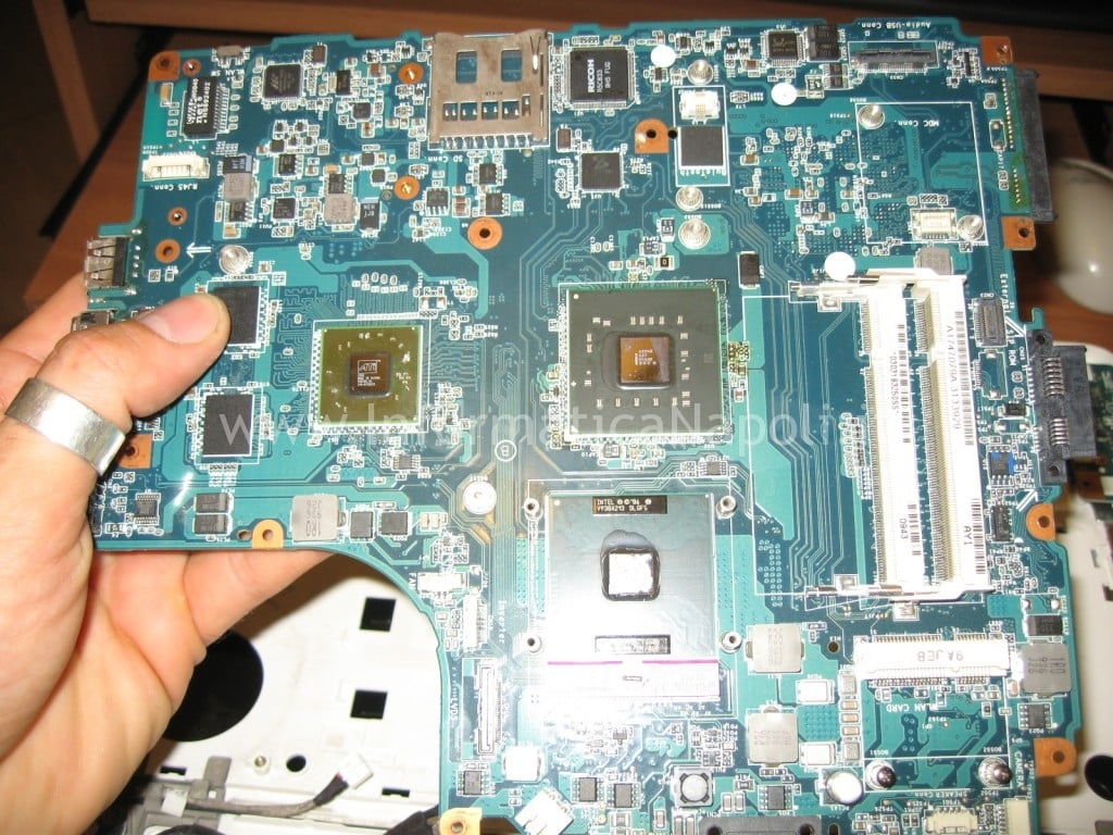 CPU Sony Vaio VGN-NW21MF PCG-7186M