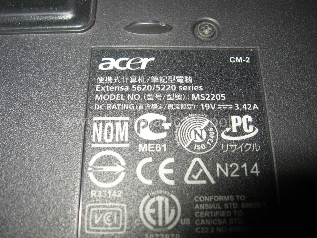 riparare Acer 5620-5220
