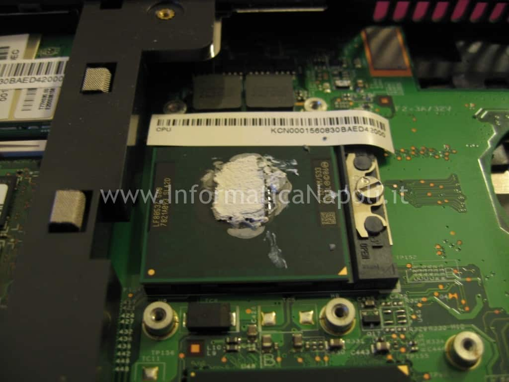CPU processore acer 5620 5220