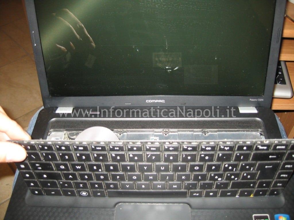cambiare tastiera Compaq Presario CQ56
