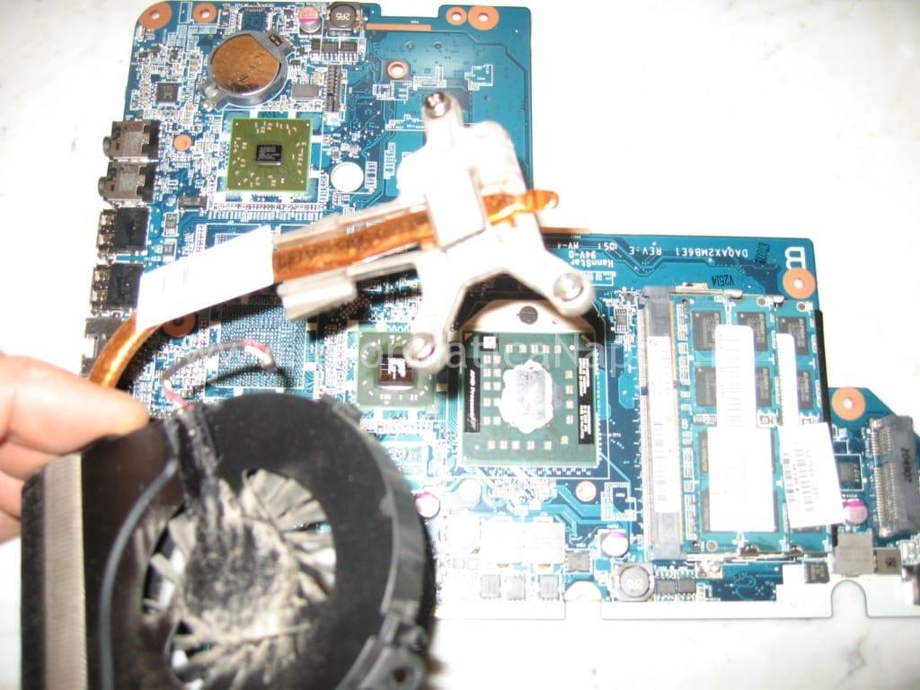 dissipatore Compaq Presario CQ56