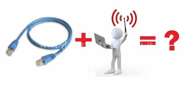LAN e WiFi assieme