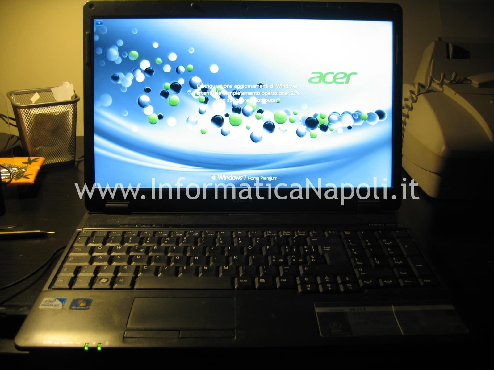 Acer 5635Z riparato