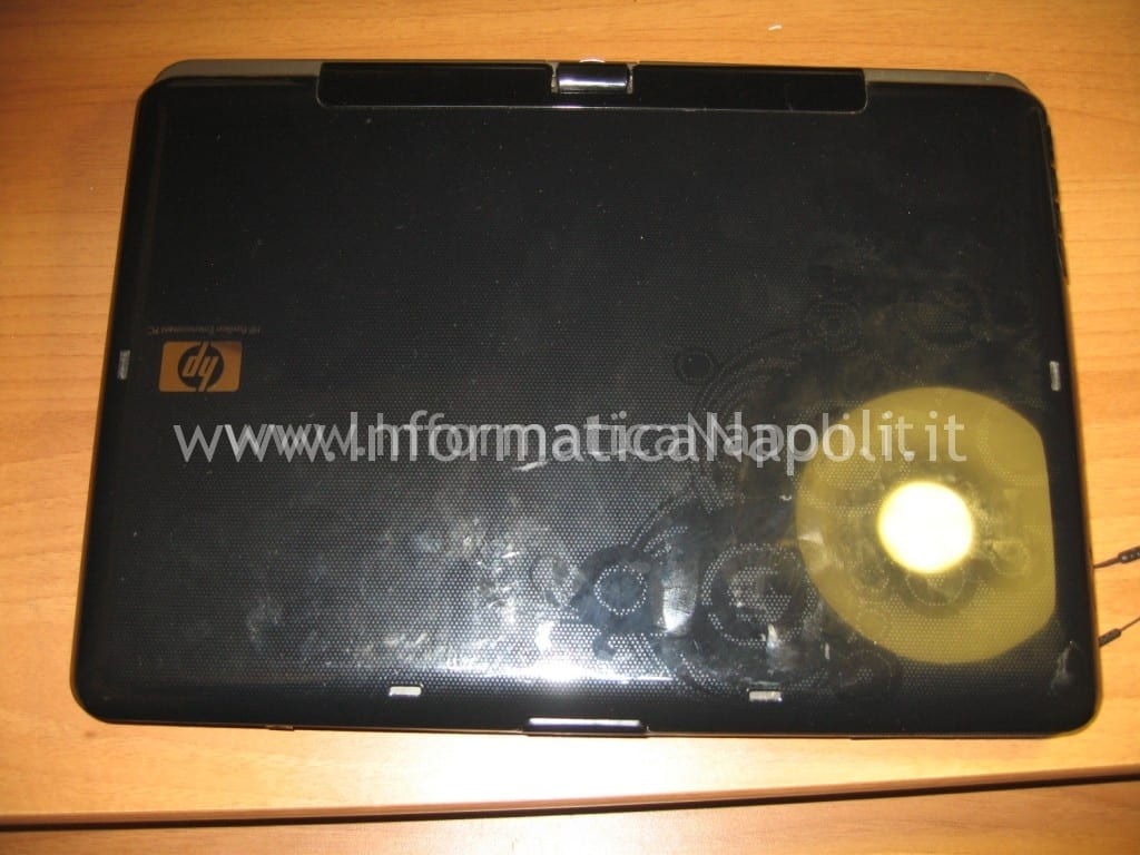 case HP Pavilion TX 2000
