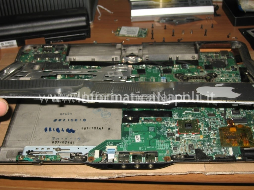 motherboard HP Pavilion TX 2000