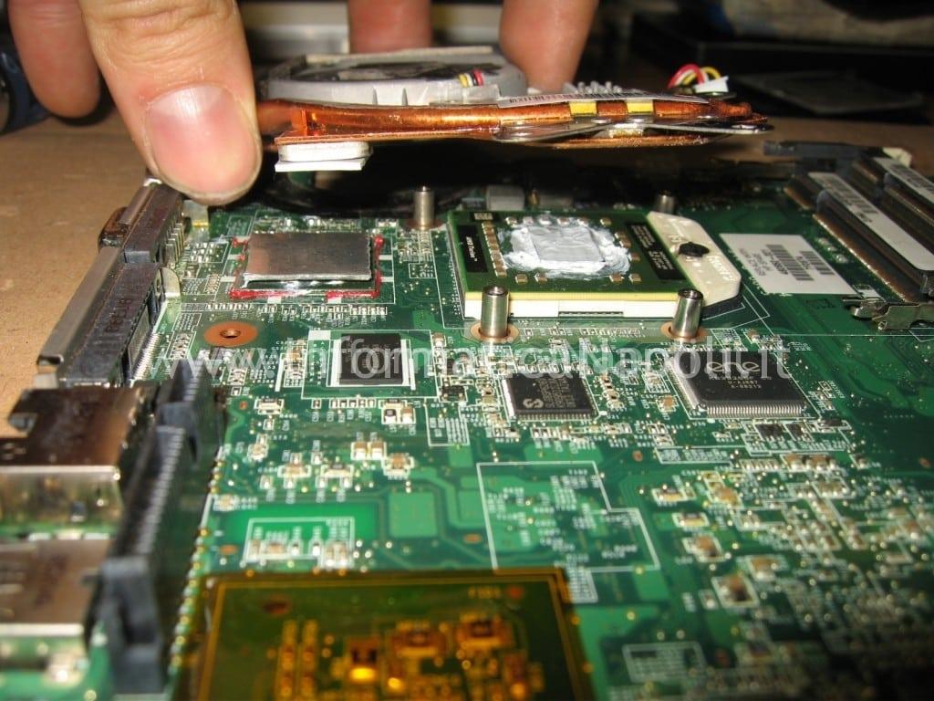 montaggio dissipatore HP Pavilion TX 2000