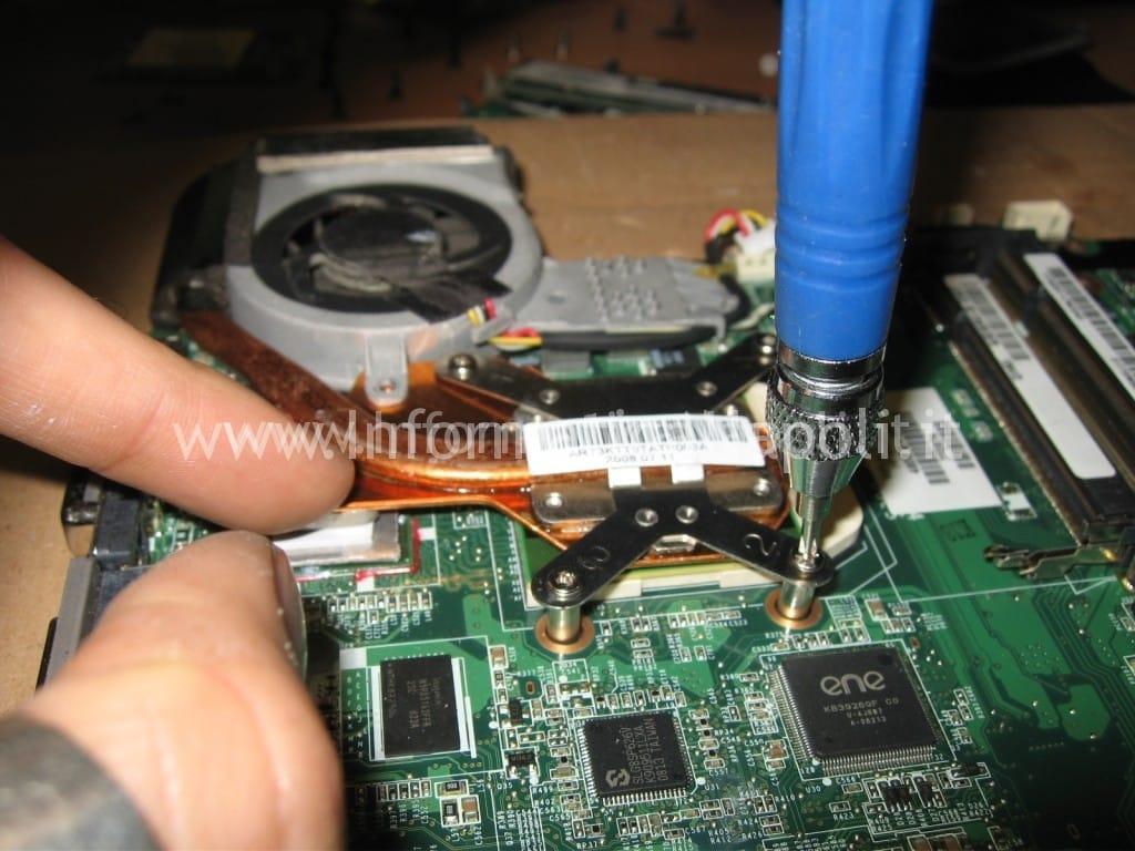 avvitare processore HP Pavilion TX 2000