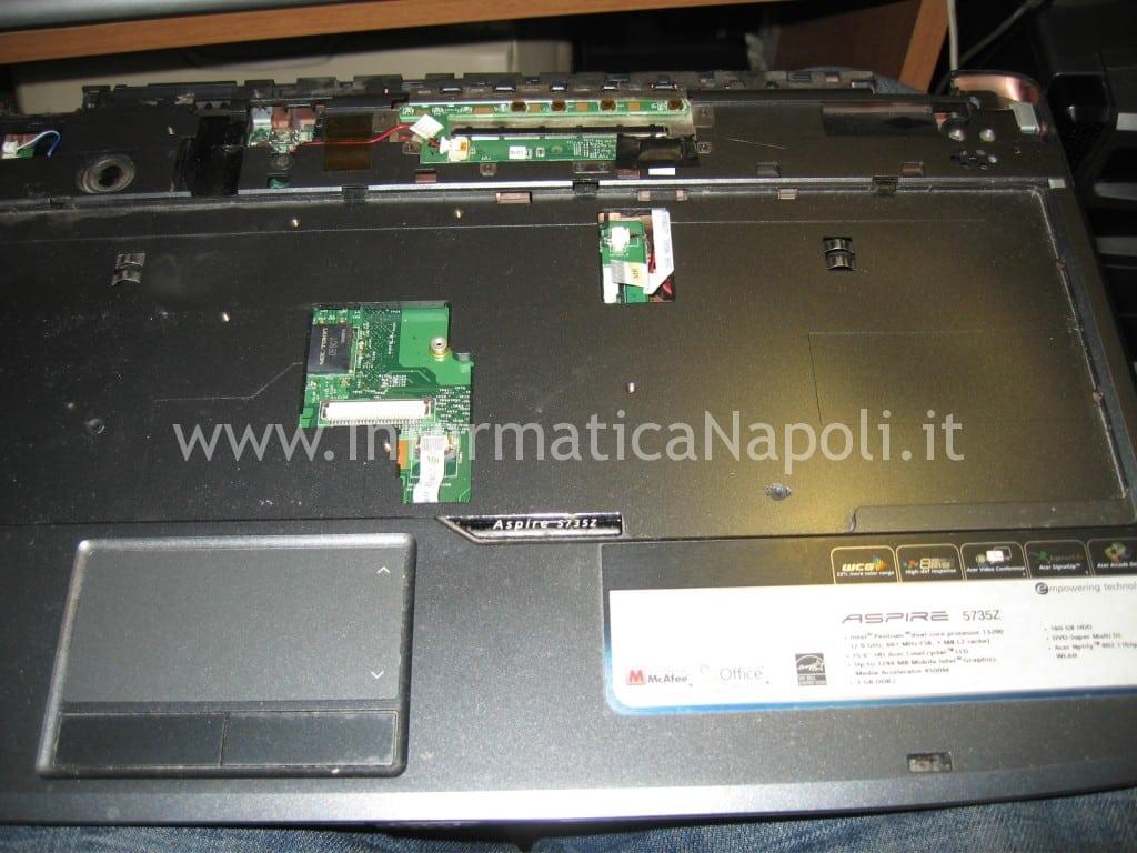 riparare scheda madre Acer Aspire 5735Z napoli