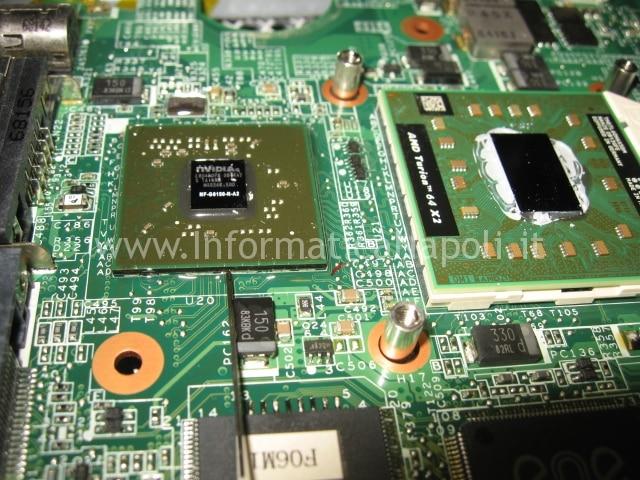 reflow HP Pavilion TX 2000 TX 2500
