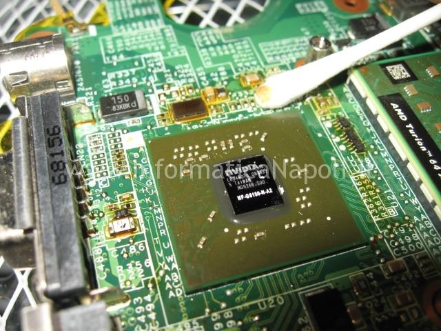 reball  reflow HP Pavilion TX 2000 TX 2500