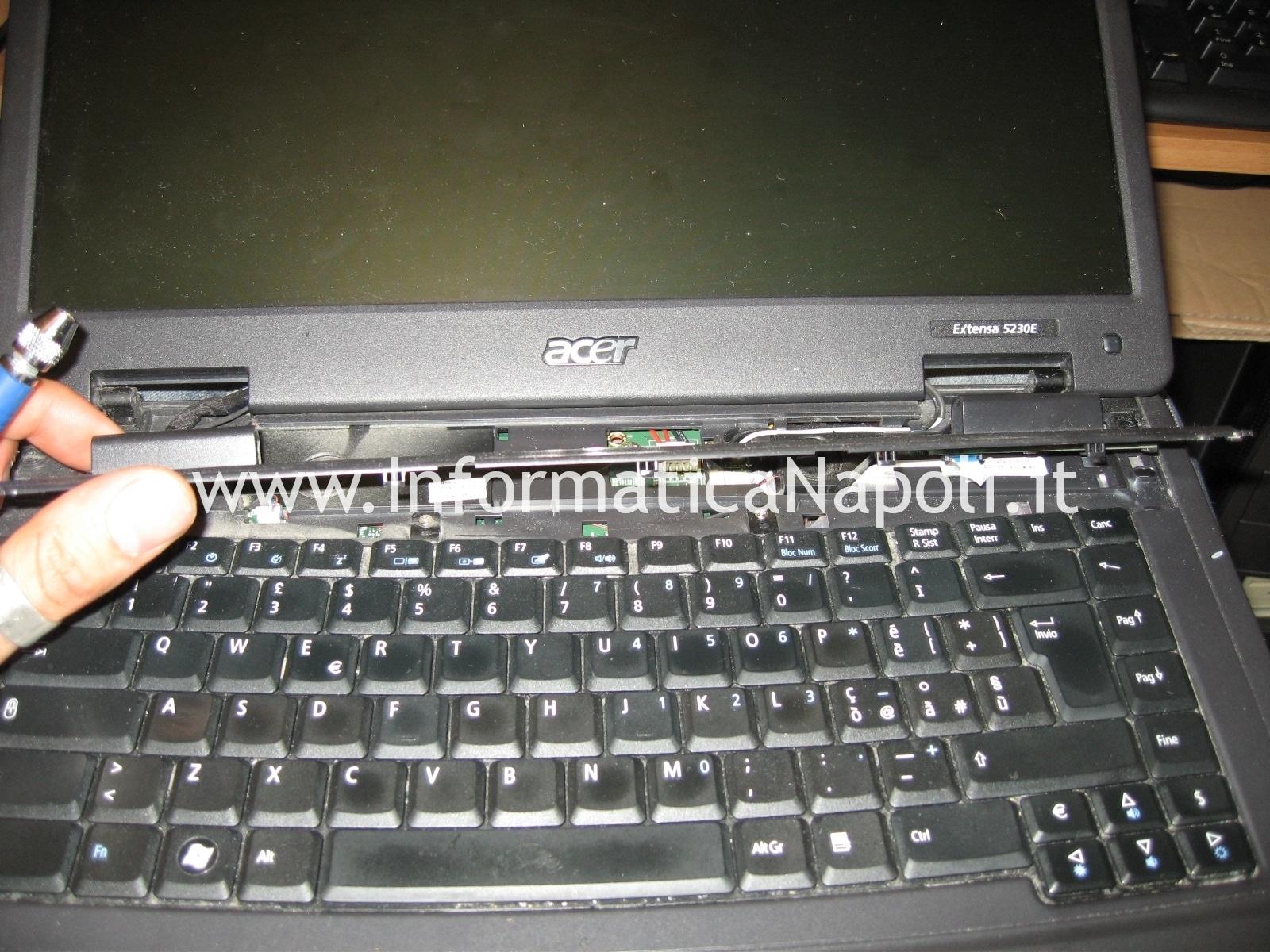 aprire Acer extensa 5630 5330Z 5630Z 5230E