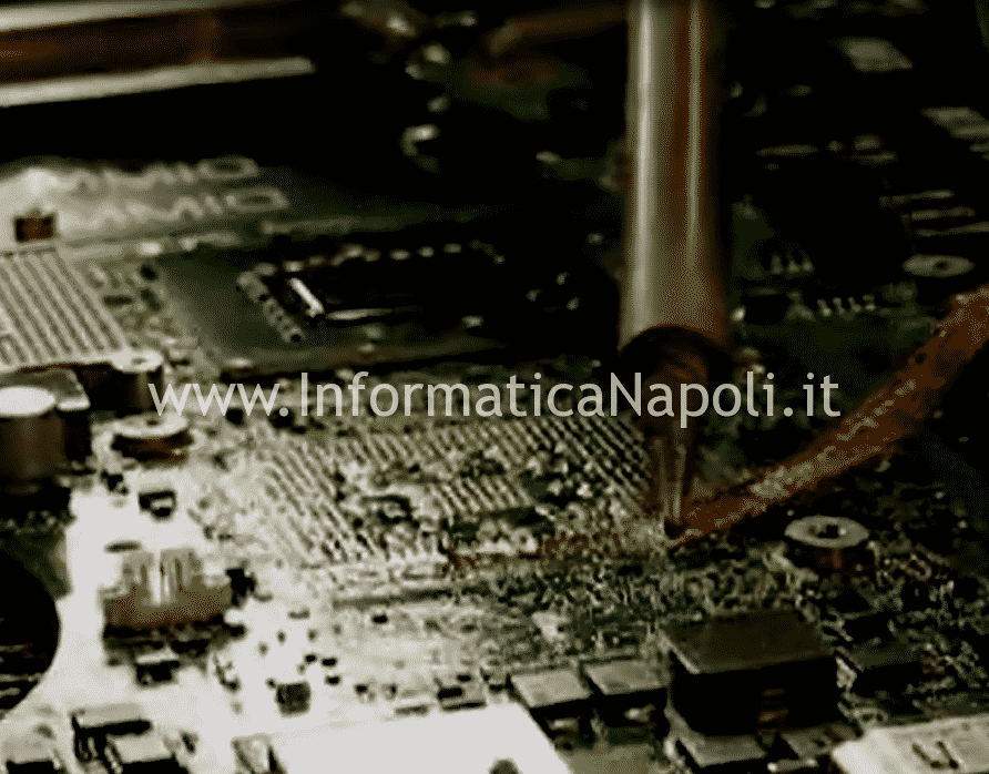 come riparare e fare reballing bga apple A1312