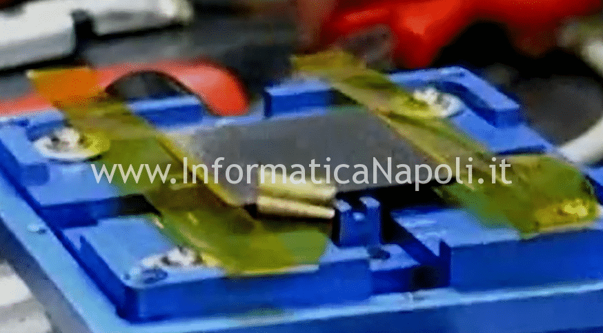 Reballing Reflow BGA apple imac 17 late 2006