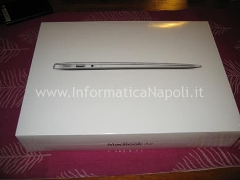 Aprire macbook air 13