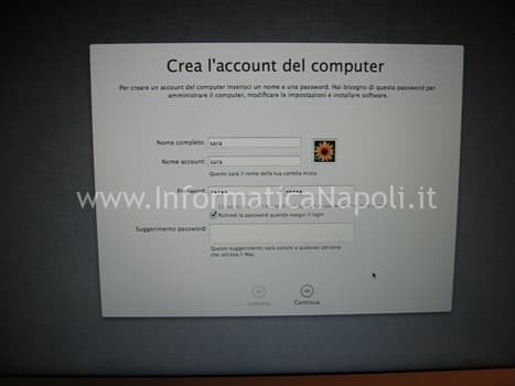 installare apple macbook napoli