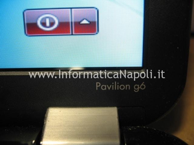 riavvio HP pavilion g6