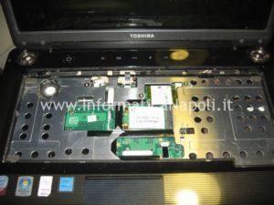 riparazione Toshiba Satellite a300