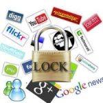 blocco navigazione aziendale