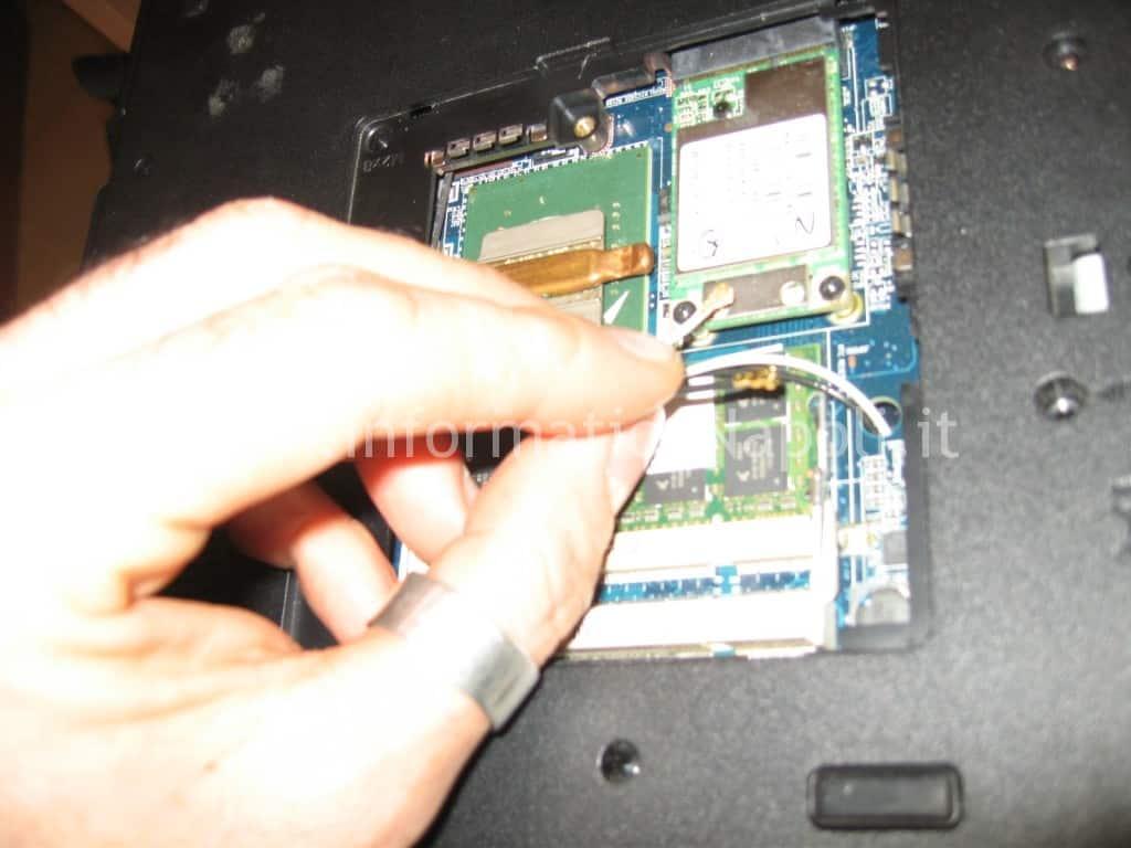 scheda rete HP 530
