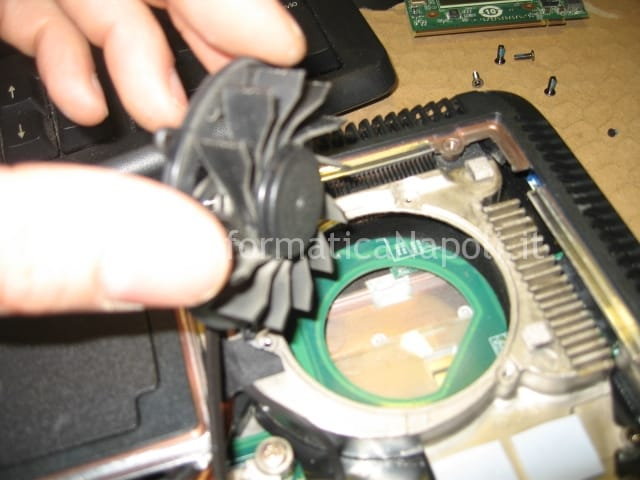 pulizia ventola Acer 5920g