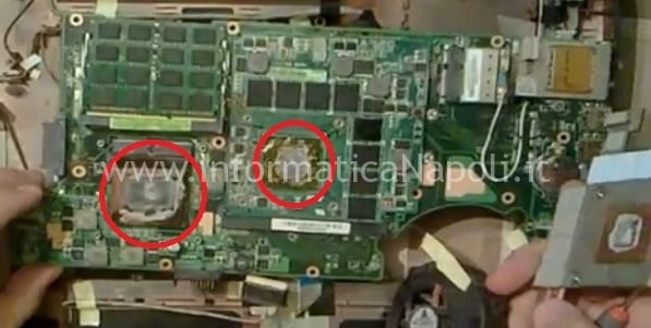 cambio pasta termoconduttiva g73j