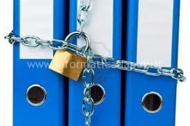 proteggere file e cartelle con password