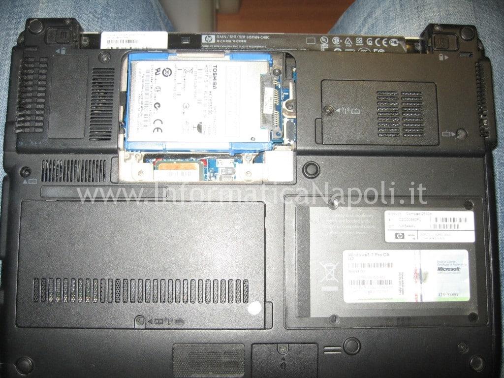 riparazione HP Compaq 2530