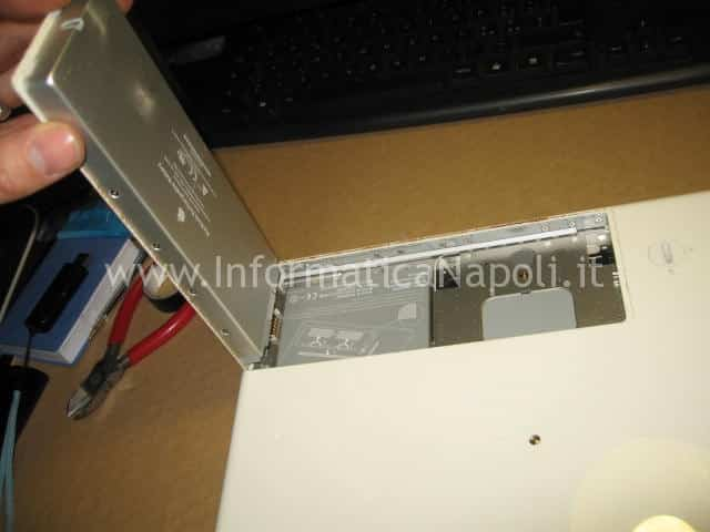 smontare macbook 13.3