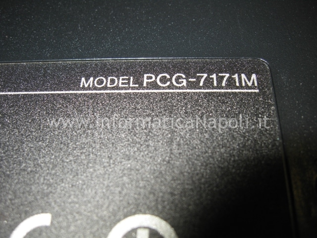Sony VGN-NW11S PCG-7171M