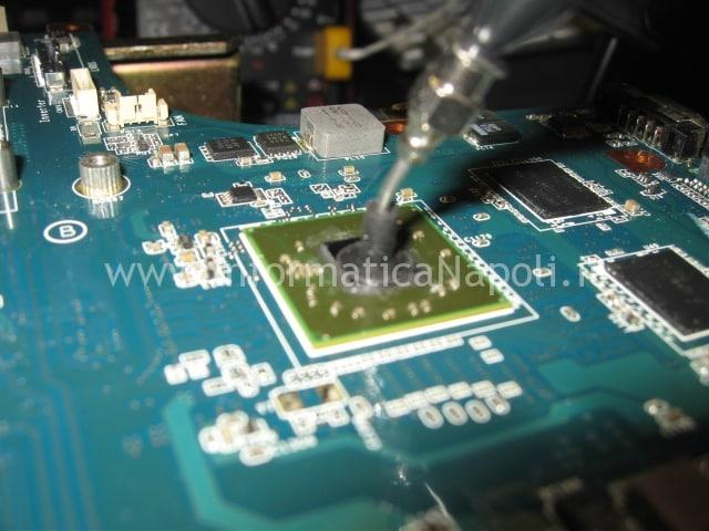 sostituzione scheda grafica sony PCG-7171 VGN-NW11