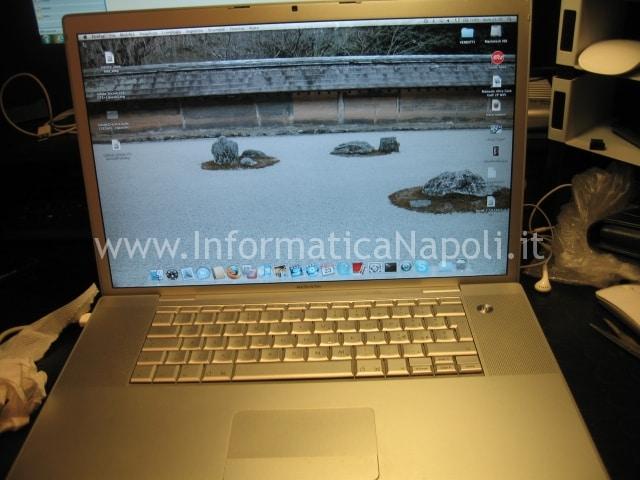 macbook pro 17 a1229 funziona si accende
