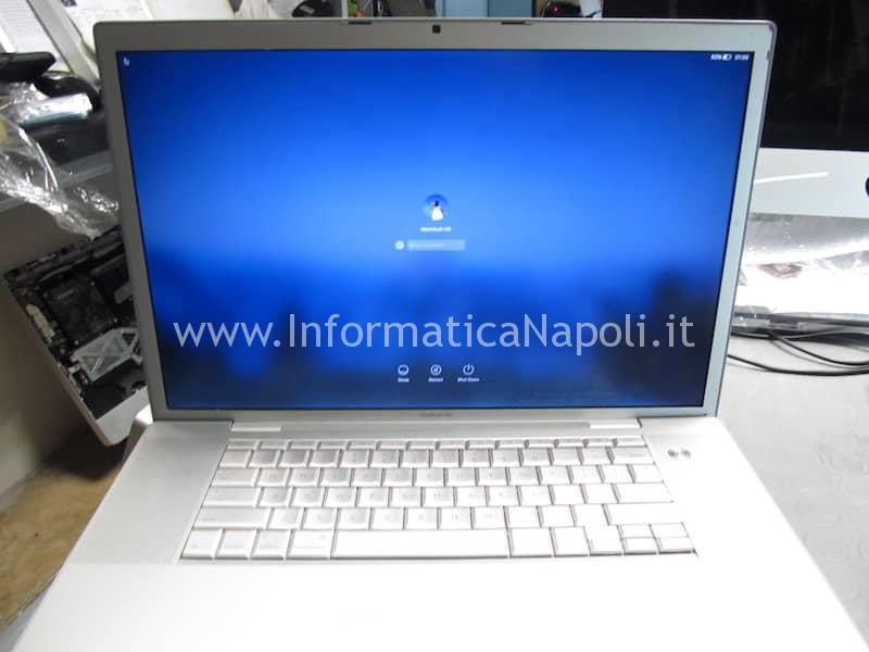 Problemi video MacBook Pro Vintage a1229 A1151 A1212 A1261 risolti con sostituzione GPU