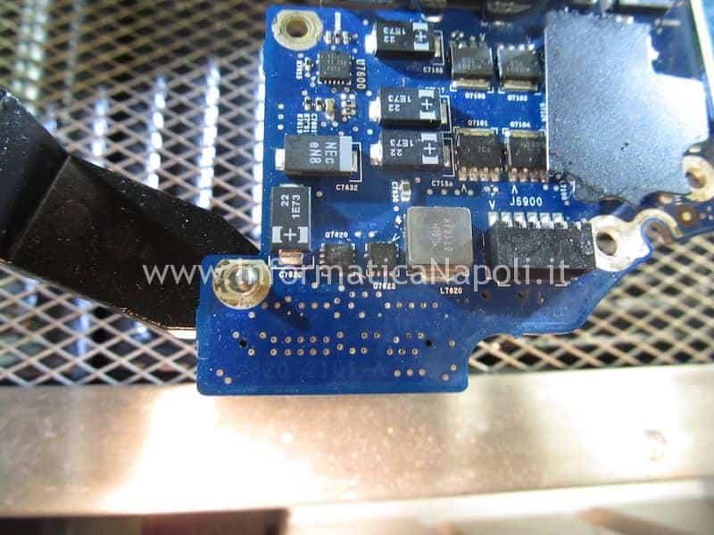 Scheda logica 820-2101-A Problemi accensione MacBook Pro 17 vintage A1151 | A1212 | A1229 |