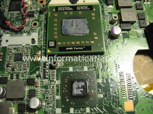CPU GPU toshiba satellite U400D 200 PSU48E reballing