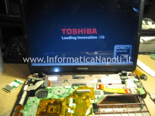 toshiba satellite U400D 200 PSU48E riparato