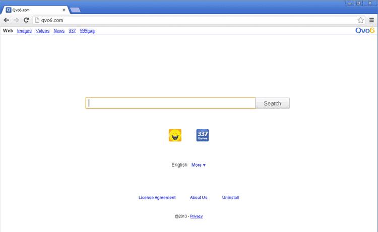 Come rimuovere Qvo6 - Qv06 dalla pagina iniziale di Google Chrome, Mozilla o Internet Explorer