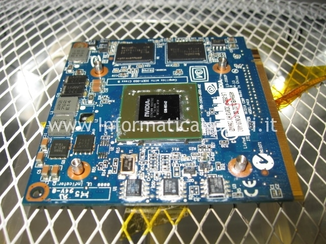 reflow nVidia GeForce 8400M acer 5720