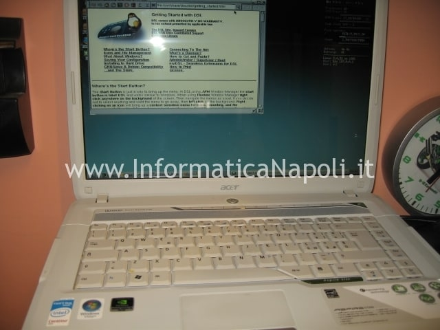 acer 5720g si accende