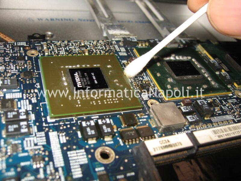 riparazione nvidia macbook pro