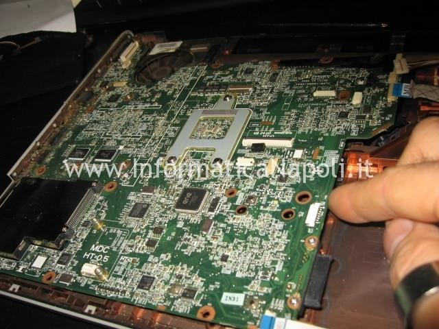 riparare scheda madre HP Pavilion DV5